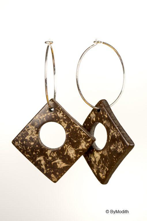 creoler sølv øreringe