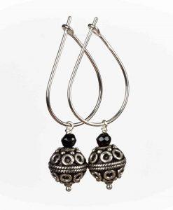 Creoler øreringe med antik-look kugler