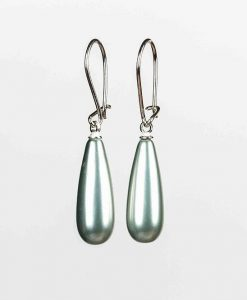 Elegante og klassiske øreringe med perlemor