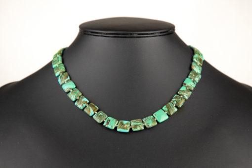 turkis groen halskaede